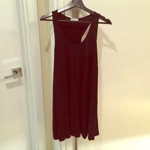 Socialite comfy black cotton dress size large